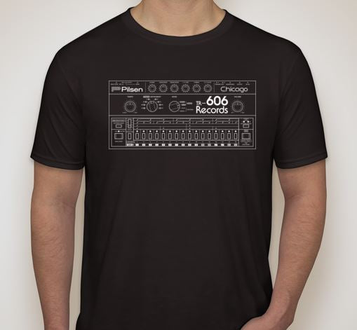 Drum Machine Shirt- Black