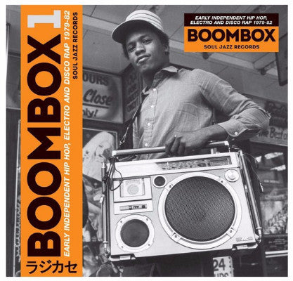 Boombox 1 (Early Independent Hip Hop, Electro And Disco Rap 1979-82) (New 3LP + Download)