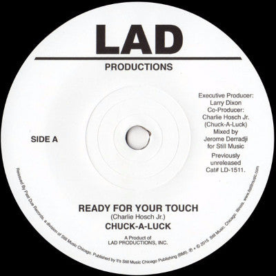 "Ready For Your Touch (New 7"")"