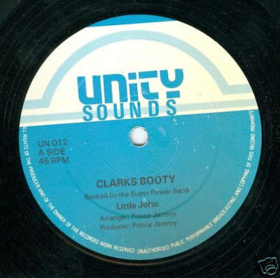 "Clarks Booty / Have To Girlie Girlie (Used 12"")"