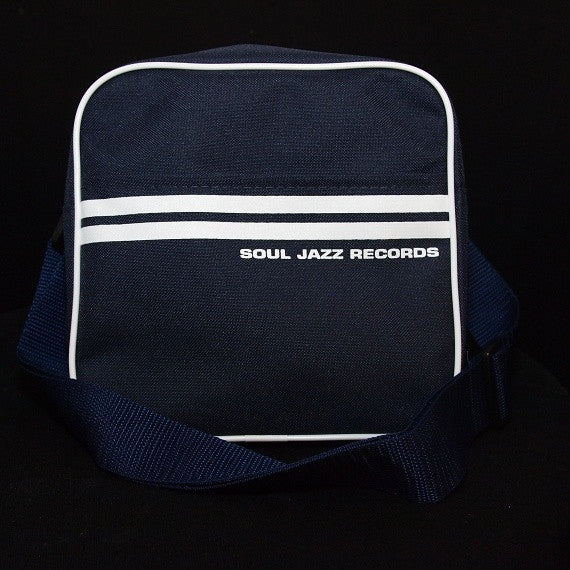 Record Bag - Classic Navy Blue/White 7""