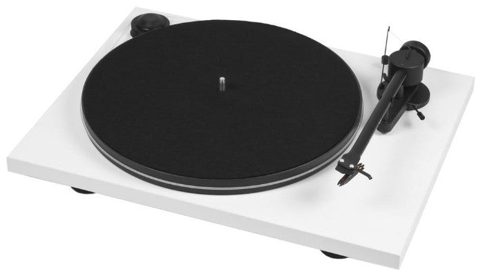 Pro-Ject Debut III Turntable (White)