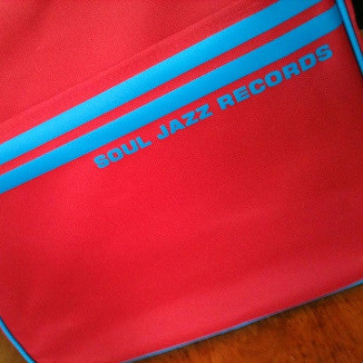 Record Bag - Red/Blue 7""
