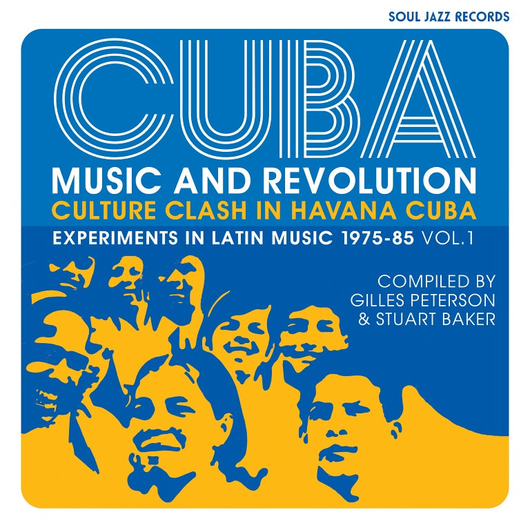 Soul Jazz Records presents - CUBA: Music and Revolution: Culture Clash in Havana (New 3LP) *PREORDER*