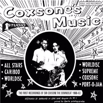 The First Recordings Of Sir Coxsone The Downbeat 1960-63 - Record A (New 2LP + Download)