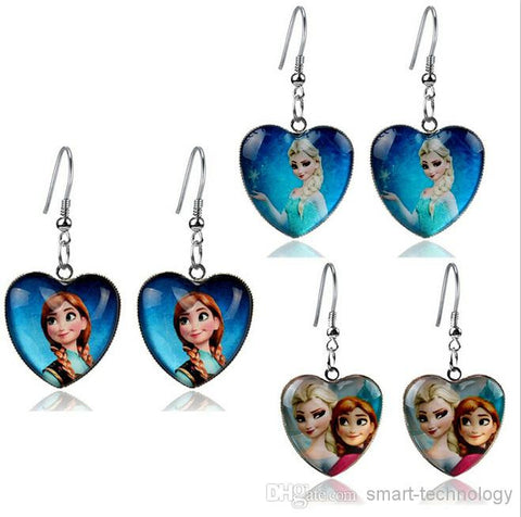 "Girls ""Frozen"" Dangle Earrings"
