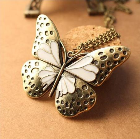 "Hollow-Out ""Butterfly""Pendant"