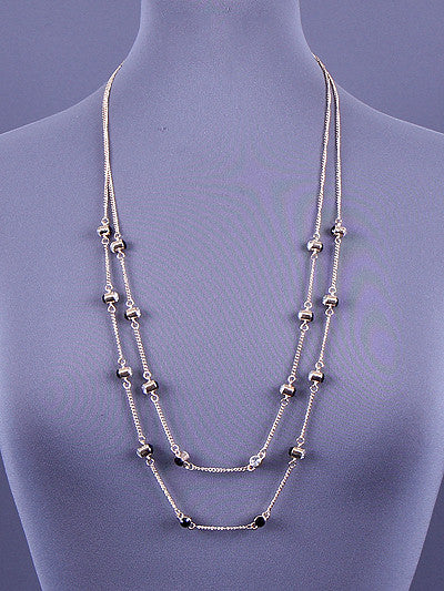 Long Layered Necklace