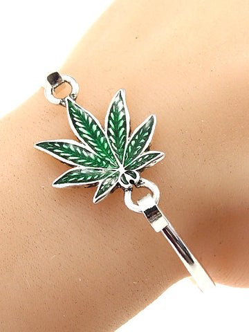 Hemp Leaf Bangle