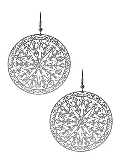 Round Shaped Earrings