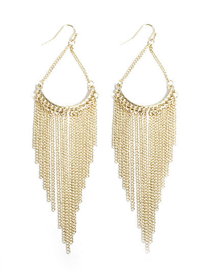 Tassle Fish Hook Earrings