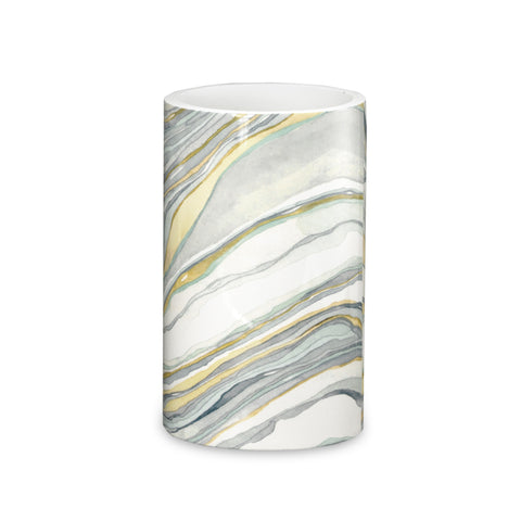 "Royal Bath Hypnotic Marble Heavy Resin Tumbler (4.5""H x 2.5""Dia)"