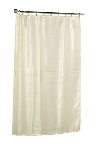 Park Avenue Deluxe Collection Park Avenue Deluxe Collection Extra Long (84'') Polyester Shower Curtain Liner in Ivory