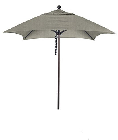 Eclipse Collection 6' Fiberglass Market Umbrella PO DVent Bronze/Sunbrella/Spectrum Dove