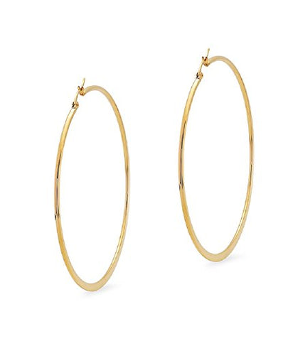 Ben and Jonah 18KT Gold Hoop Earrings