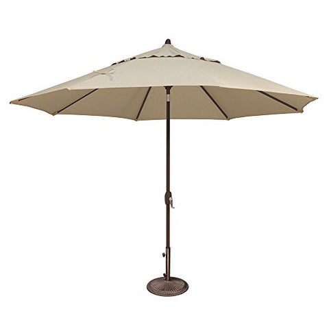 Eclipse Patio 11-ft Sunbrella Octagon Umbrella (Beige)