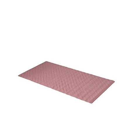 Park Avenue Deluxe Collection Park Avenue Deluxe Collection Large (18'' x 36'') Slip-Resistant Rubber Bath Tub Mat in Rose
