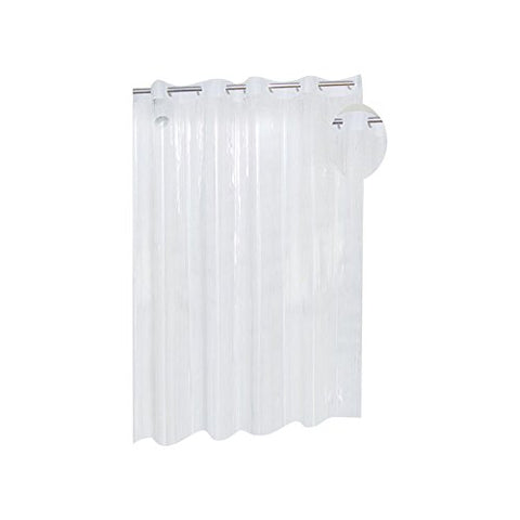Park Avenue Deluxe Collection Park Avenue Deluxe Collection EZ-ON? PEVA Shower Curtain in Super Clear