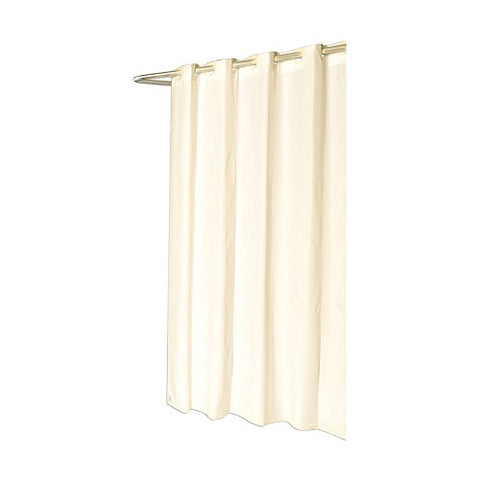 Park Avenue Deluxe Collection Park Avenue Deluxe Collection Shower Stall-Sized EZ-ON?  inch Checks inch  Polyester Shower Curtain in Ivory