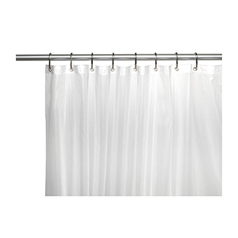 Park Avenue Deluxe Collection Park Avenue Deluxe Collection Shower Stall-Sized  inch Clean Home inch  Liner in Frosty Clear