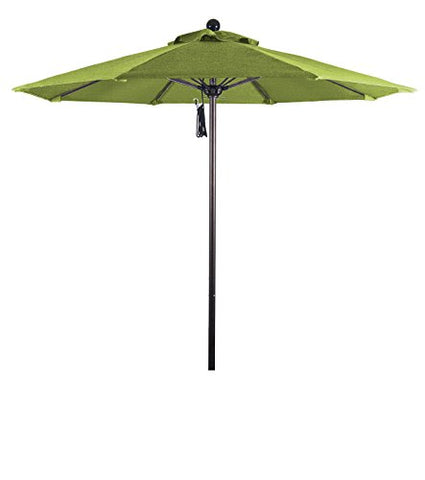 Eclipse Collection 7.5' Fiberglass Market Umbrella PO DVent Bronze/Sunbrella/Macaw