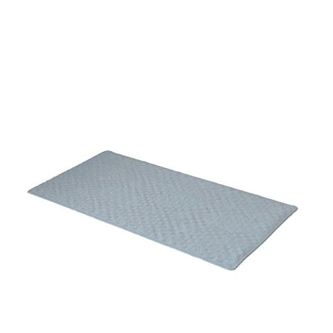 Park Avenue Deluxe Collection Park Avenue Deluxe Collection Large (18'' x 36'') Slip-Resistant Rubber Bath Tub Mat in Sage