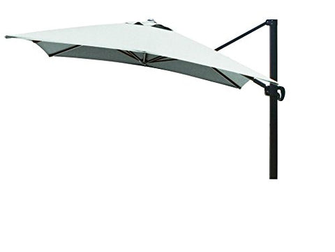 Eclipse Collection 10'x10' SquareCantileverUmbrella CL MultiPositon Bronze/Sunbrella/Spa