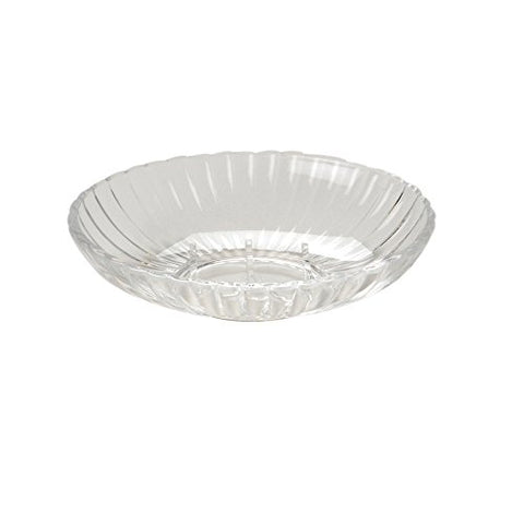 Park Avenue Deluxe Collection Park Avenue Deluxe Collection Clear Rib-Textured Soap Dish