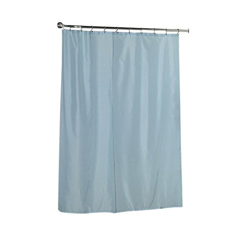 Park Avenue Deluxe Collection Park Avenue Deluxe Collection Standard-Sized Polyester Fabric Shower Curtain Liner in Light Blue