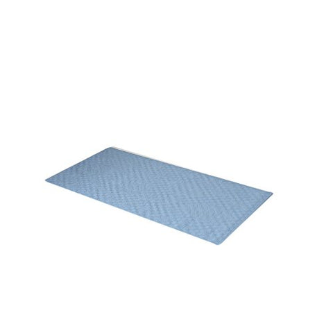 Park Avenue Deluxe Collection Park Avenue Deluxe Collection Medium (16'' x 28'') Slip-Resistant Rubber Bath Tub Mat in Slate