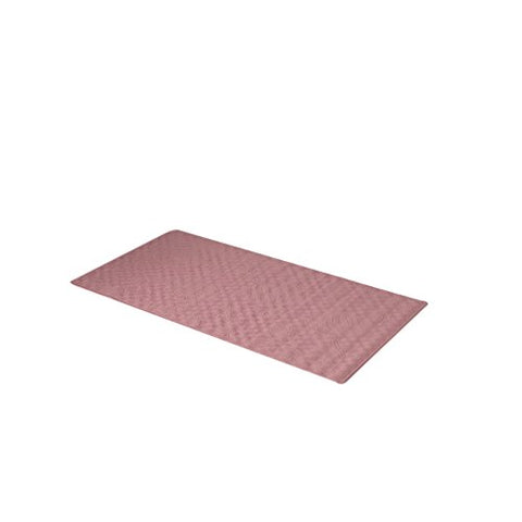 Park Avenue Deluxe Collection Park Avenue Deluxe Collection Medium (16'' x 28'') Slip-Resistant Rubber Bath Tub Mat in Rose