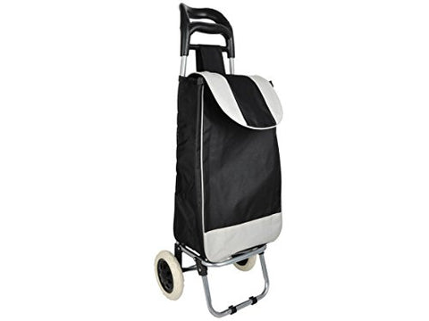 Regalo Perfecto Collection Easy Pull Shopping Bag with Wheels