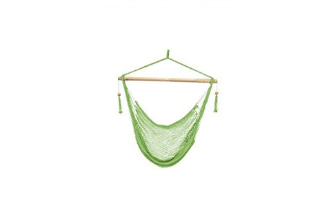 Patio Bliss Island Rope Chair - Light Green - Light Green