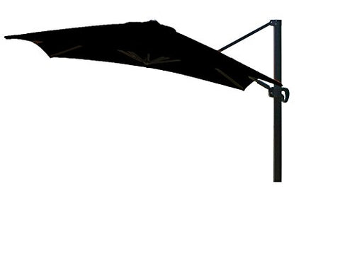 Eclipse Collection 10'x10' SquareCantileverUmbrella CL MultiPositon Bronze/Sunbrella/Black