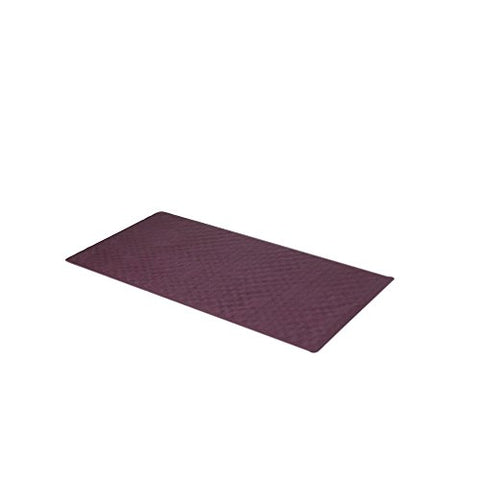 Park Avenue Deluxe Collection Park Avenue Deluxe Collection Large (18'' x 36'') Slip-Resistant Rubber Bath Tub Mat in Burgundy