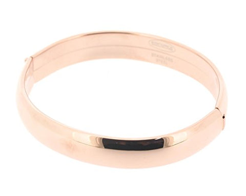 Ben and Jonah Stainless Steel Hinge Ladies Bracelet Rose Tone
