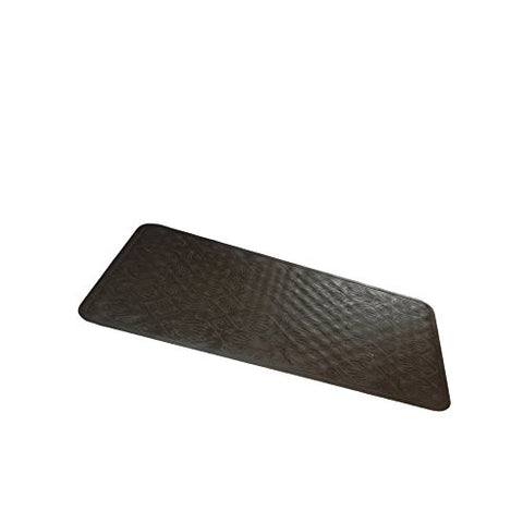 Park Avenue Deluxe Collection Park Avenue Deluxe Collection Small (13'' x 20'') Slip-Resistant Rubber Bath Tub Mat in Brown