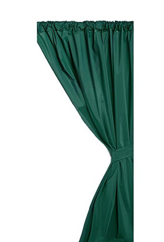 Park Avenue Deluxe Collection Park Avenue Deluxe Collection Vinyl Window Curtain in Evergreen