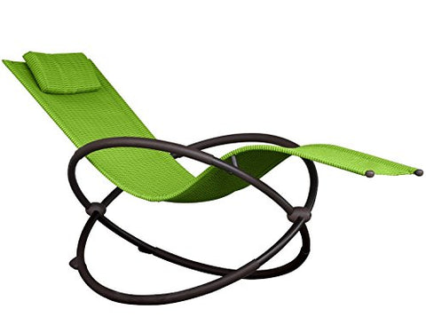 Eclipse Collection Orbital Lounger - Single (Green Apple)