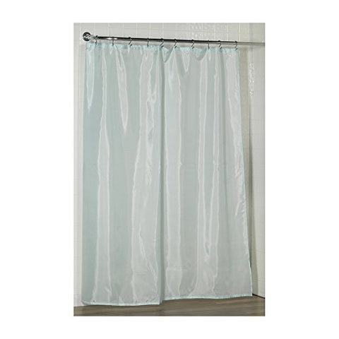 Park Avenue Deluxe Collection Park Avenue Deluxe Collection Standard-Sized Polyester Fabric Shower Curtain Liner in Spa Blue