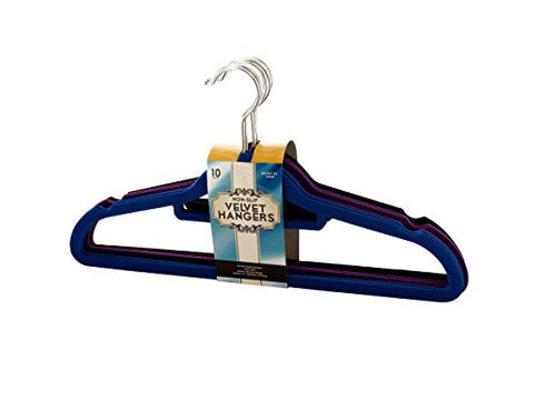 Regalo Perfecto Collection Non-Slip Velvet Hangers