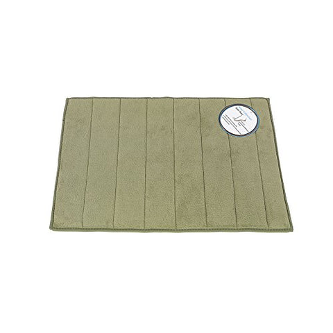 Park Avenue Deluxe Collection Park Avenue Deluxe Collection Large-Sized Memory Foam Bath Mat in Sage