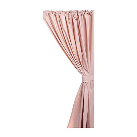 Park Avenue Deluxe Collection Park Avenue Deluxe Collection Vinyl Window Curtain in Rose