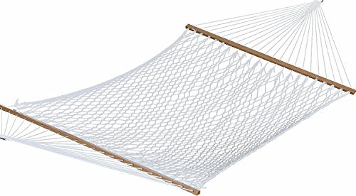 Eclipse Collection Polyester Rope Hammock - Double (White)