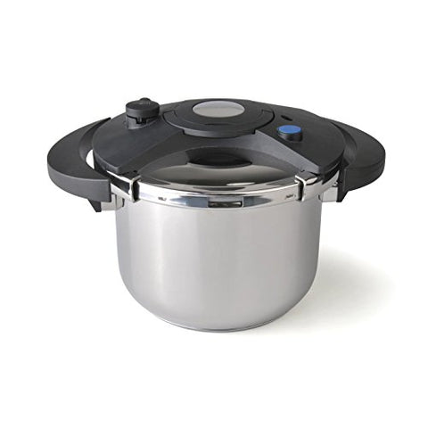 ReadyFast Eclipse 6.3-qt Stainless Steel with Phenolic Resin Pressure Cooker