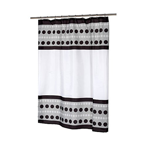 Park Avenue Deluxe Collection Park Avenue Deluxe Collection  inch Metro inch  Fabric Shower Curtain