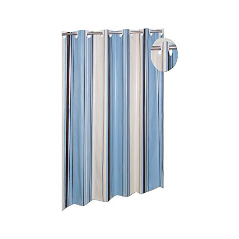 Park Avenue Deluxe Collection Park Avenue Deluxe Collection EZ-ON? PEVA  inch Stripes inch  Shower Curtain