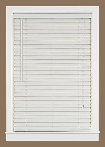 Park Avenue Collection Luna 2 inch  Vinyl Venetian Blind with 2 in. Valance 35x64 - White