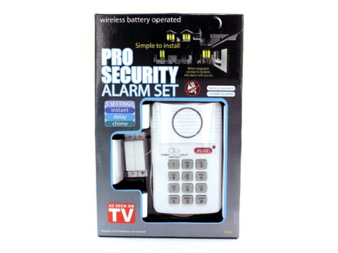 Regalo Perfecto Collection Secure Pro Keypad Alarm System