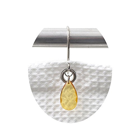 Park Avenue Deluxe Collection Park Avenue Deluxe Collection  inch Prism inch  Resin Shower Curtain Hooks in Gold